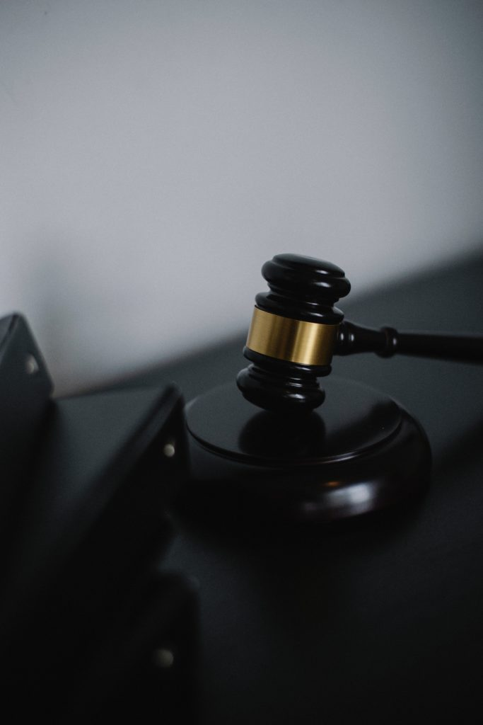 gavel on table as Georgia federal indictments are created