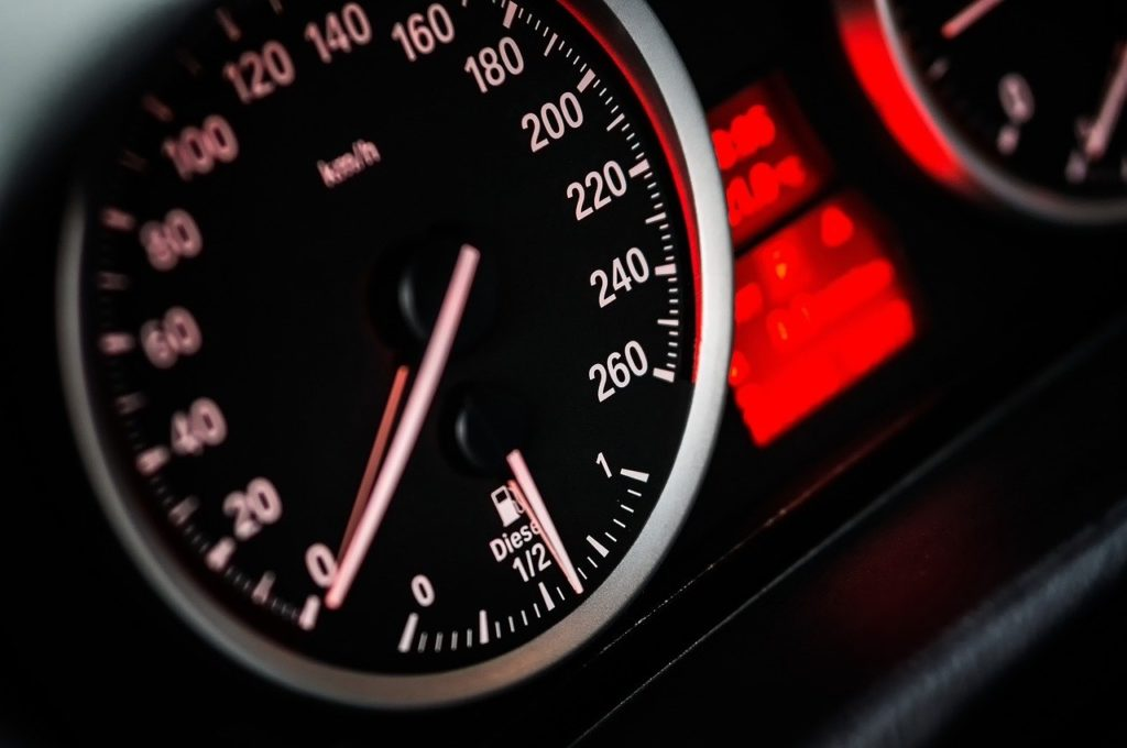 speedometer set at zero because of Georgia DUI Laws and Procedures